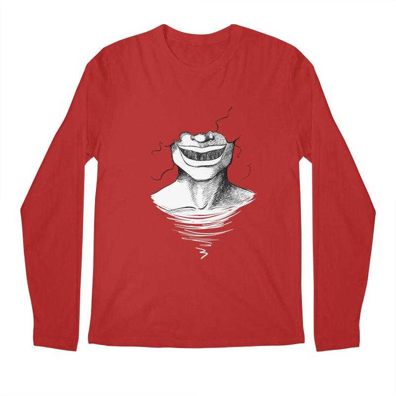 Demon's Smile Men's Longsleeve T-Shirt by Necrotic Pixie's Artist Shop