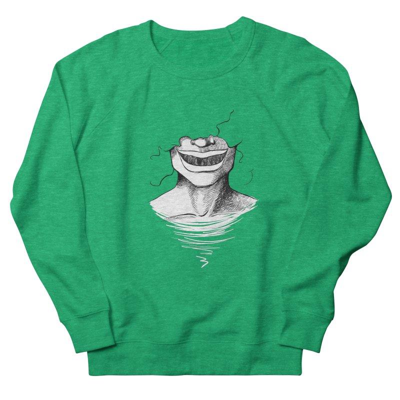 Demon's Smile Men's Sweatshirt by Necrotic Pixie's Artist Shop
