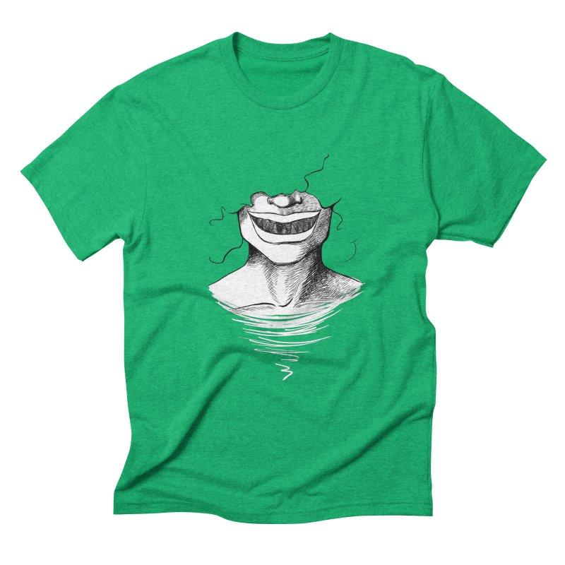 Demon's Smile Men's Triblend T-Shirt by Necrotic Pixie's Artist Shop