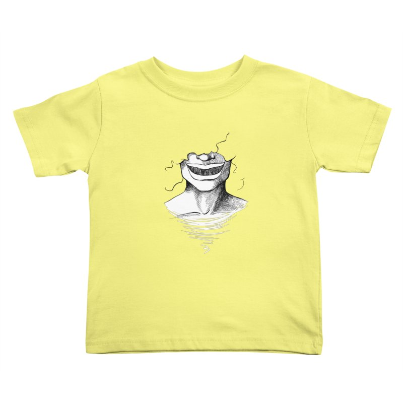 Demon's Smile Kids Toddler T-Shirt by Necrotic Pixie's Artist Shop
