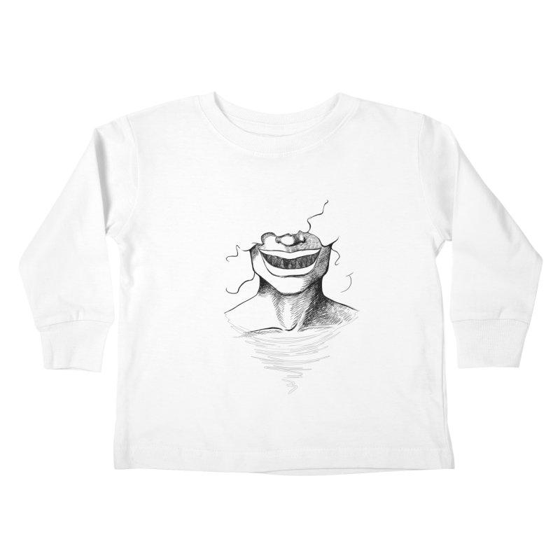 Demon's Smile Kids Toddler Longsleeve T-Shirt by Necrotic Pixie's Artist Shop
