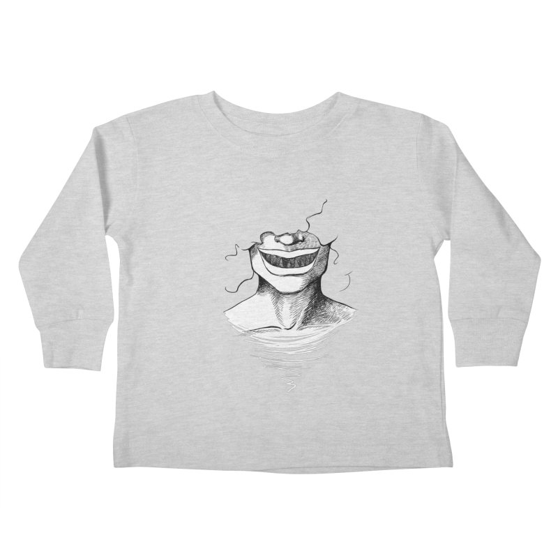 Demon's Smile Kids Toddler Longsleeve T-Shirt by Necrotic Pixie's Artist Shop