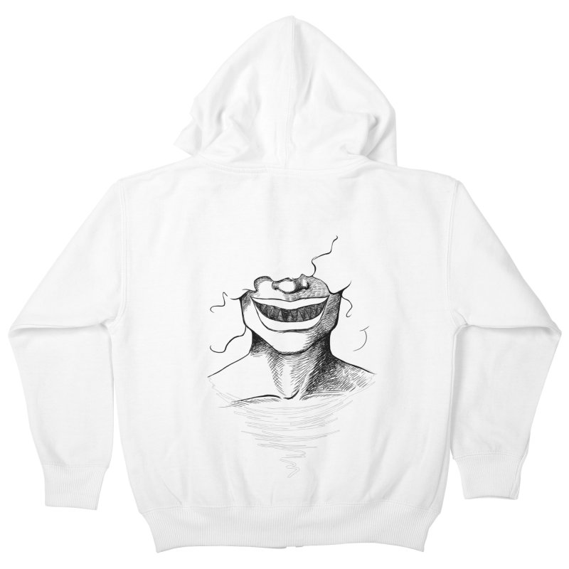 Demon's Smile Kids Zip-Up Hoody by Necrotic Pixie's Artist Shop