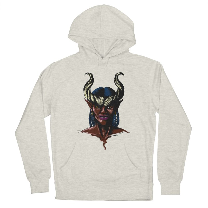 Tiefling Women's Pullover Hoody by Necrotic Pixie's Artist Shop