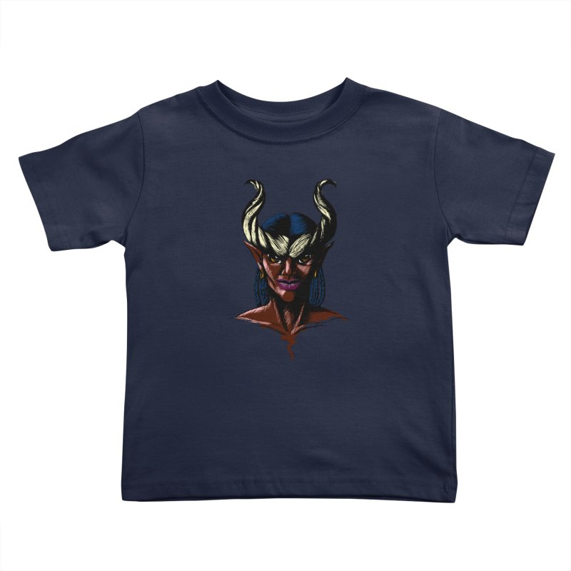 Tiefling Kids Toddler T-Shirt by Necrotic Pixie's Artist Shop