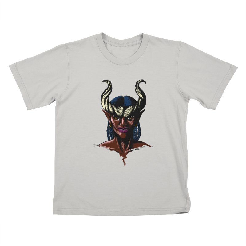 Tiefling Kids T-Shirt by Necrotic Pixie's Artist Shop