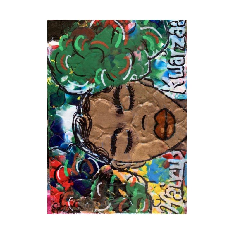 Hairy Kwanzaa Accessories Greeting Card by needsartsupplies's Artist Shop
