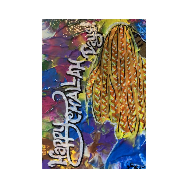 Happy Challah Days Accessories Greeting Card by needsartsupplies's Artist Shop