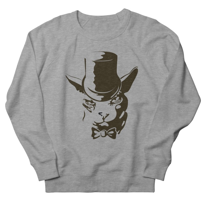 Serious  Sphynx Men's Sweatshirt by nefertitiart's Artist Shop