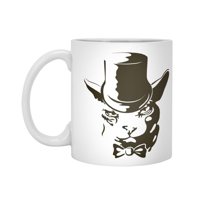 Serious  Sphynx Accessories Mug by nefertitiart's Artist Shop