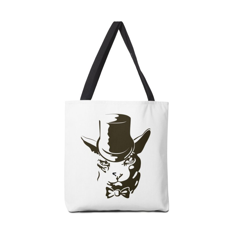 Serious  Sphynx Accessories Bag by nefertitiart's Artist Shop