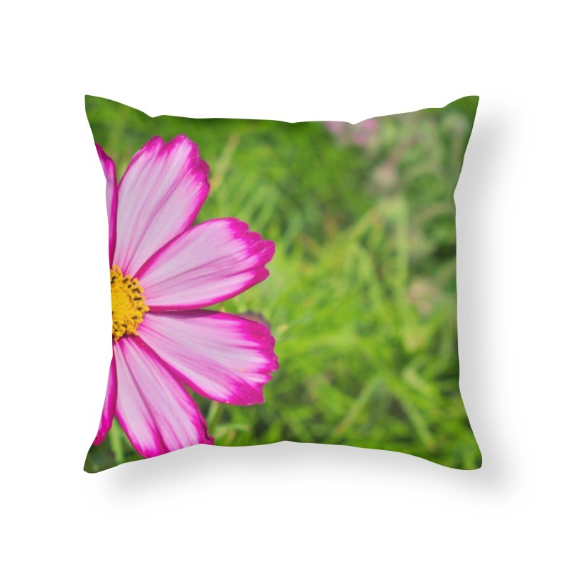 Cosmos in Throw Pillow by Nathan Ellen-Johnson Photography