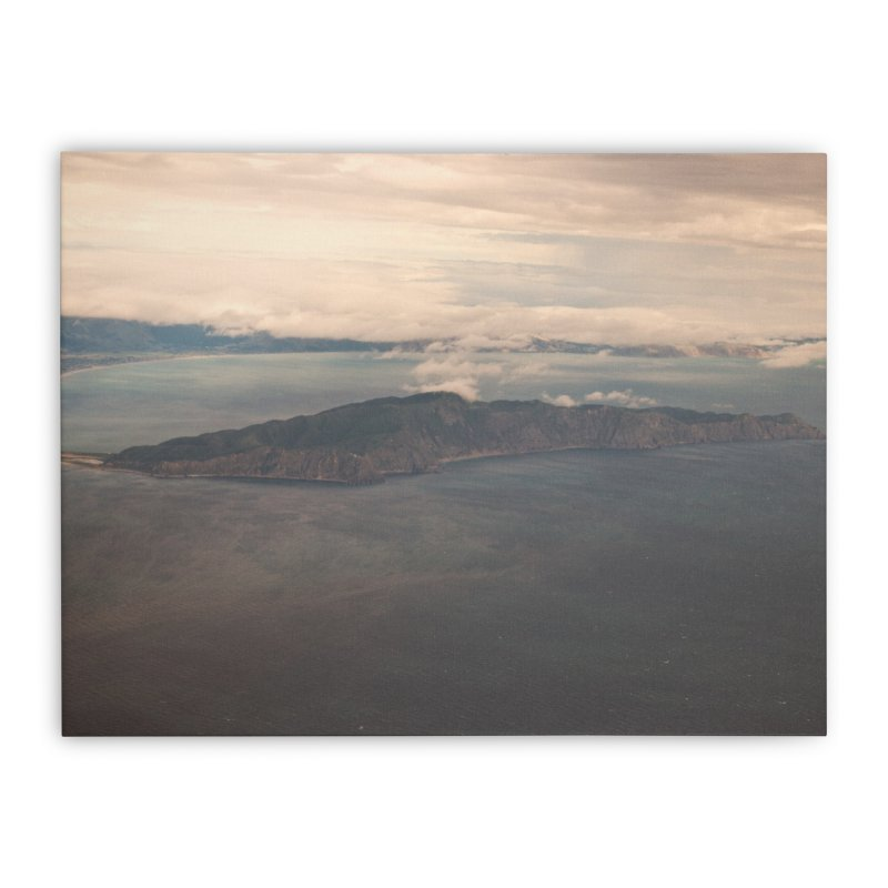 Kapiti Island I in Stretched Canvas by Nathan Ellen-Johnson Photography