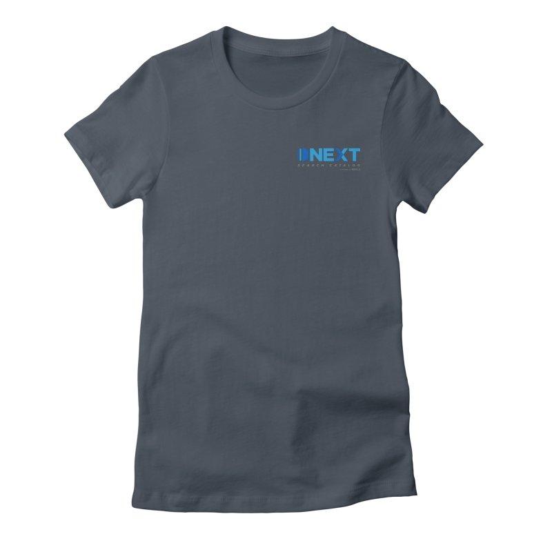 Next logo: Left Chest in Women's Fitted T-Shirt Denim by NEKLS Shop
