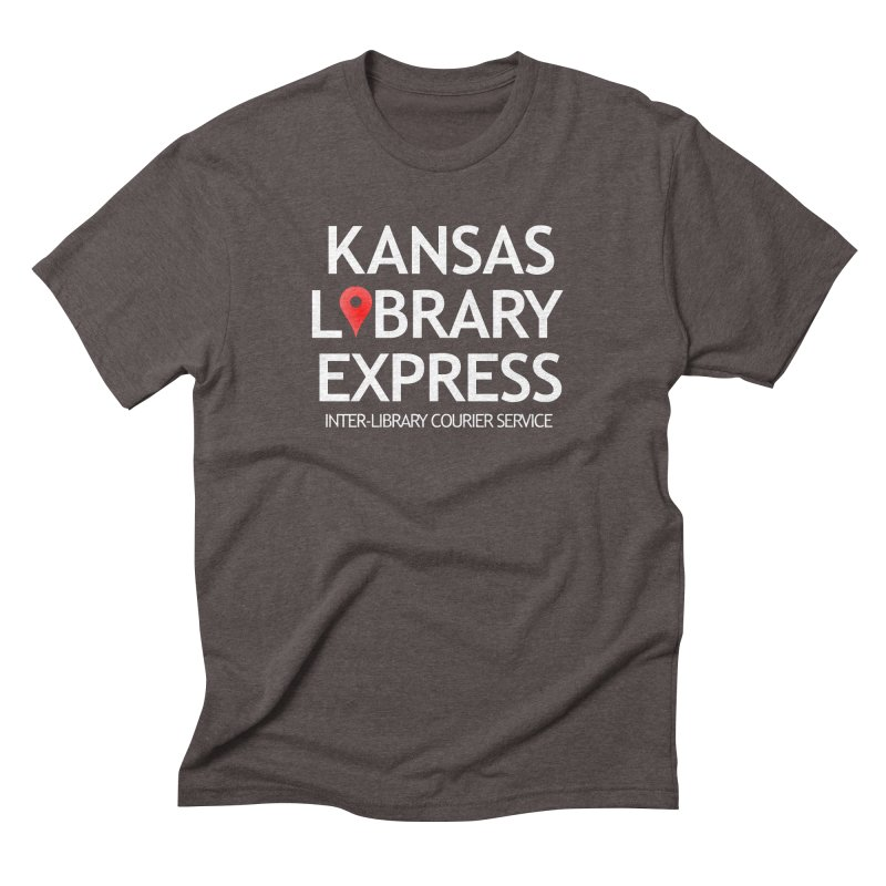 KS Library Express: Full Size in Men's Triblend T-Shirt Tri-Coffee by NEKLS Shop