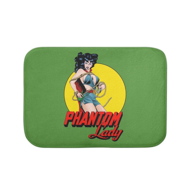 Phantom Lady (Color Ver.) Home Bath Mat by NEKOLAZ