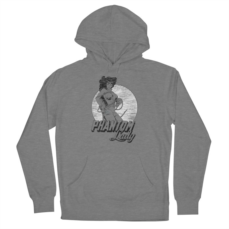 Phantom Lady (B&W Ver.) Women's Pullover Hoody by NEKOLAZ