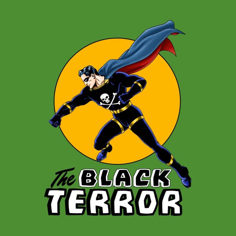The Black Terror Women's V-Neck by NEKOLAZ