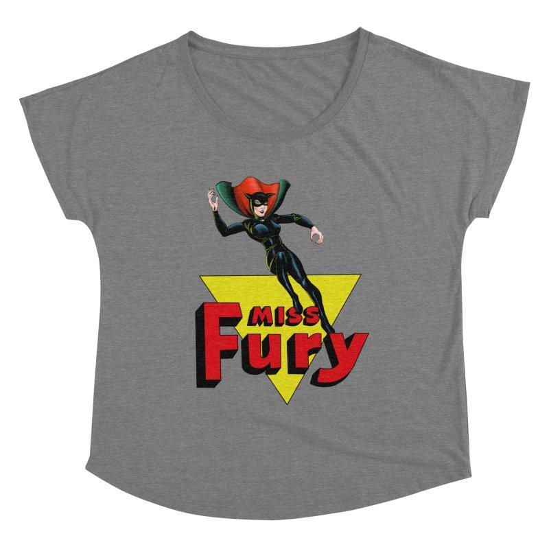 Miss Fury Women's Scoop Neck by NEKOLAZ