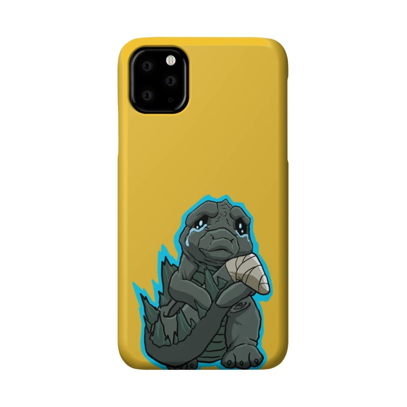 Chibi Kaiju Tears Accessories Phone Case by NEKOLAZ