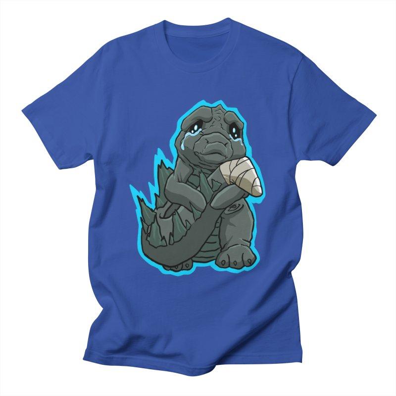 Chibi Kaiju Tears Men's T-Shirt by NEKOLAZ