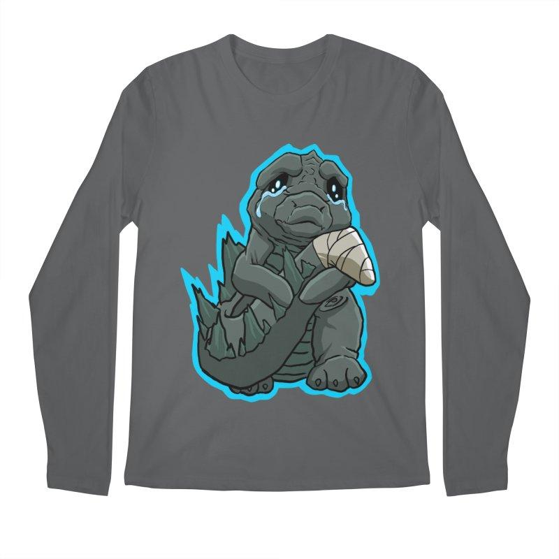 Chibi Kaiju Tears Men's Longsleeve T-Shirt by NEKOLAZ