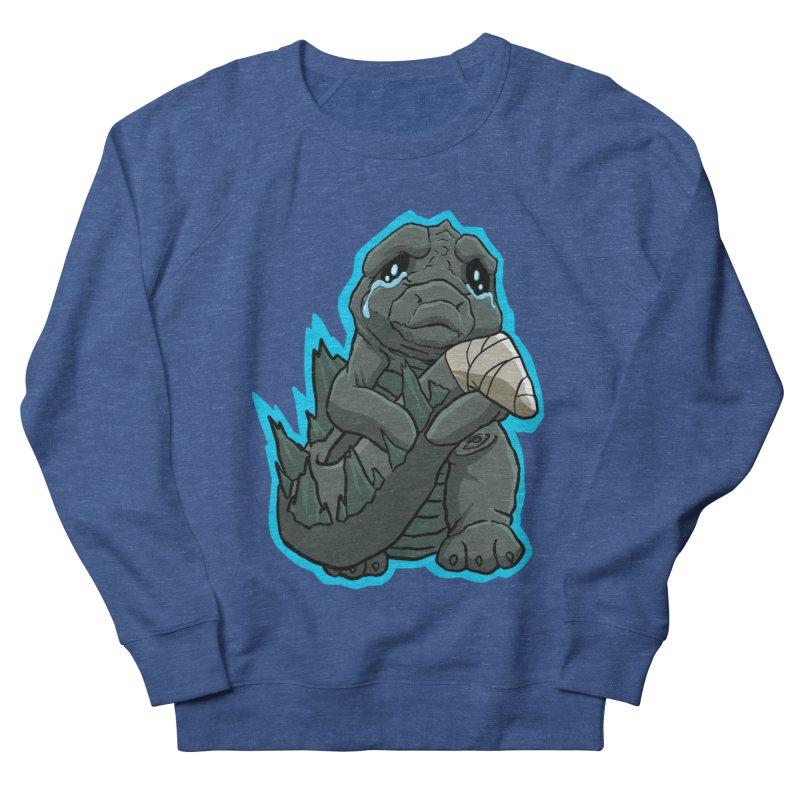 Chibi Kaiju Tears Men's Sweatshirt by NEKOLAZ