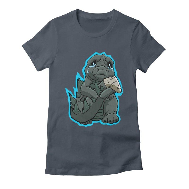 Chibi Kaiju Tears Women's T-Shirt by NEKOLAZ