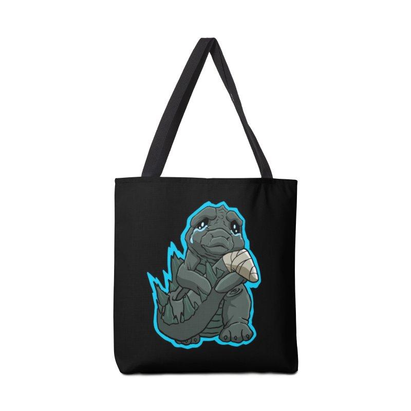 Chibi Kaiju Tears Accessories Bag by NEKOLAZ