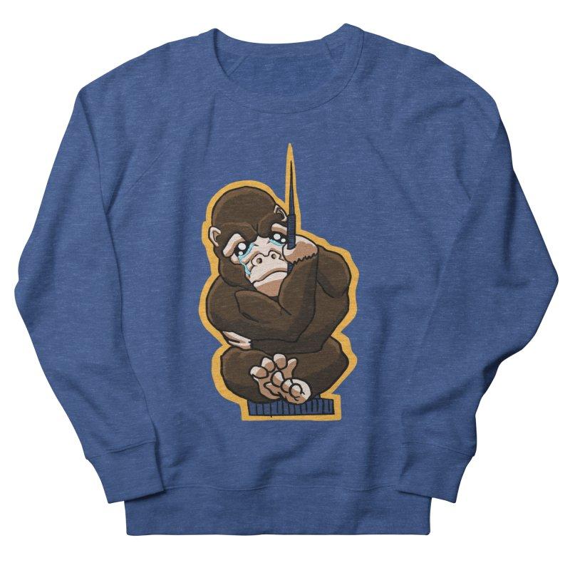 Chibi Gorilla Tears Men's Sweatshirt by NEKOLAZ