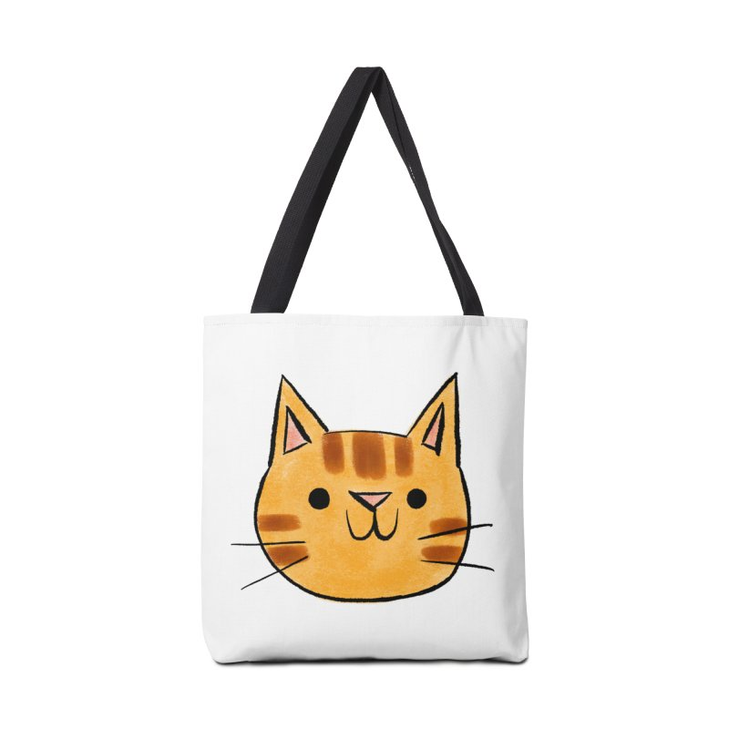 Ginger Cat Accessories Bag by Nellie Le