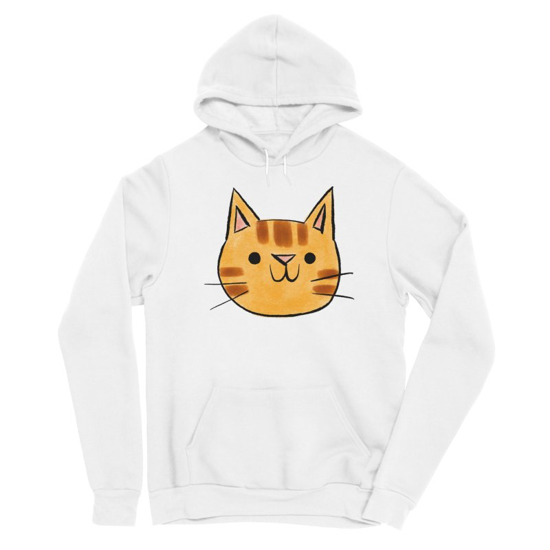 Ginger Cat Men's Pullover Hoody by Nellie Le