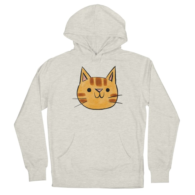 Ginger Cat Women's Pullover Hoody by Nellie Le