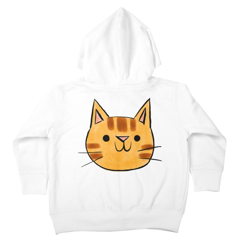 Ginger Cat Kids Toddler Zip-Up Hoody by Nellie Le