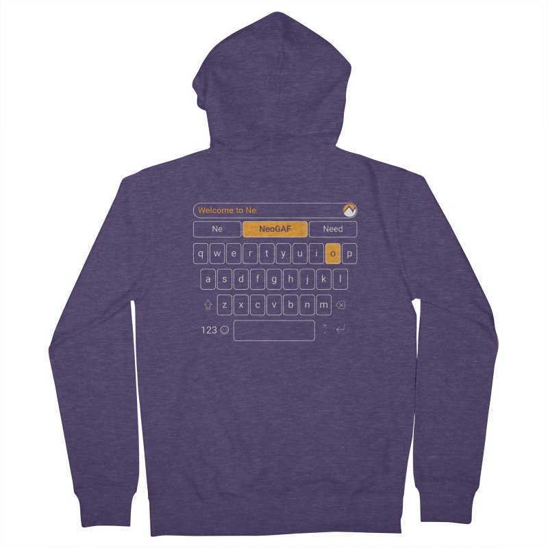 kadayi 02 Men's French Terry Zip-Up Hoody by NeoGAF Merch Shop