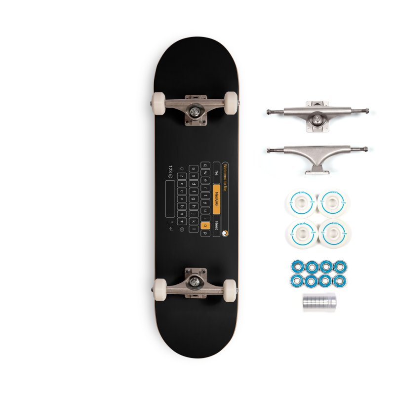 kadayi 02 Accessories Complete - Basic Skateboard by NeoGAF Merch Shop