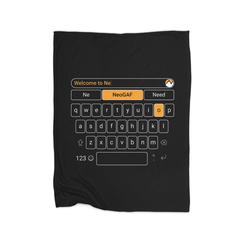 kadayi 02 Home Fleece Blanket Blanket by NeoGAF Merch Shop