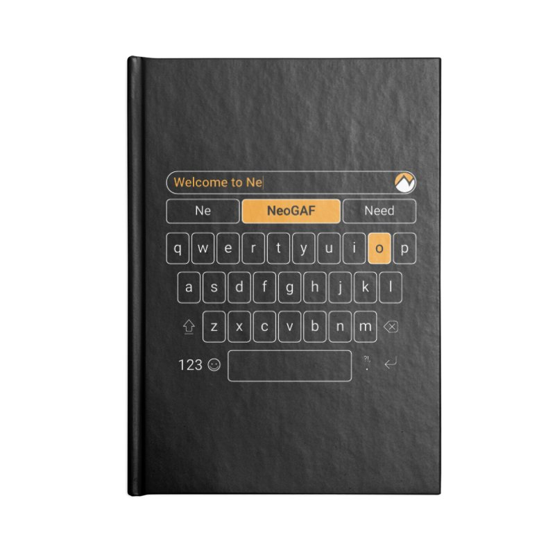 kadayi 02 Accessories Lined Journal Notebook by NeoGAF Merch Shop