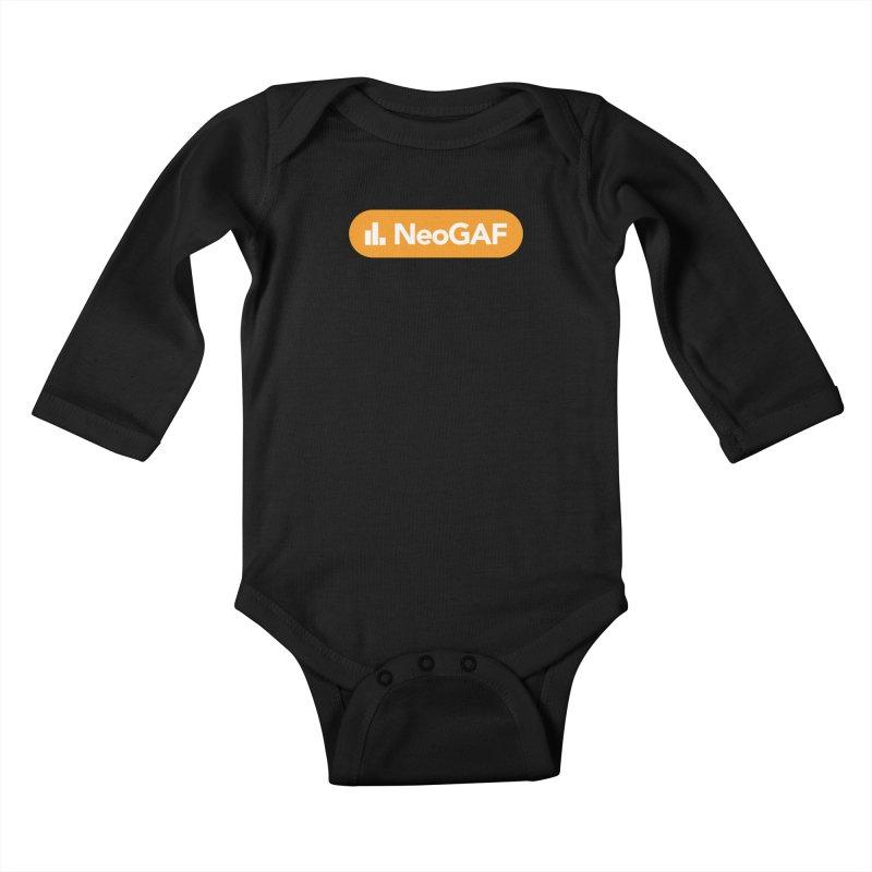 salvatron 01 Kids Baby Longsleeve Bodysuit by NeoGAF Merch Shop