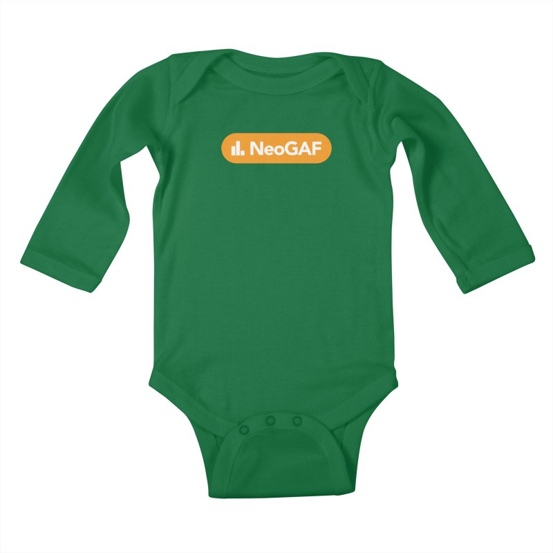 salvatron 01 Kids Baby Longsleeve Bodysuit by NeoGAF Merch Shop