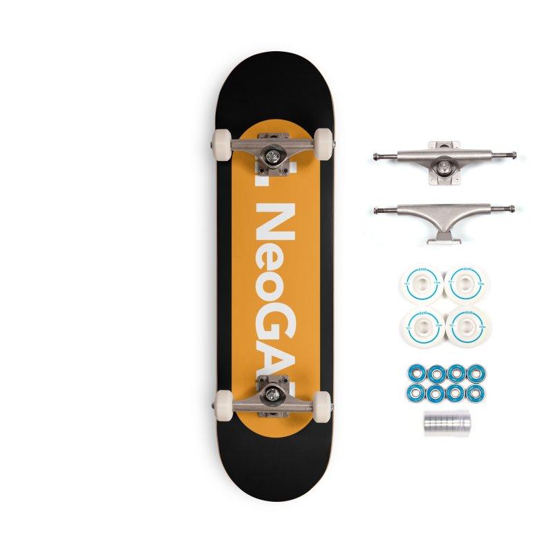 salvatron 01 Accessories Complete - Basic Skateboard by NeoGAF Merch Shop