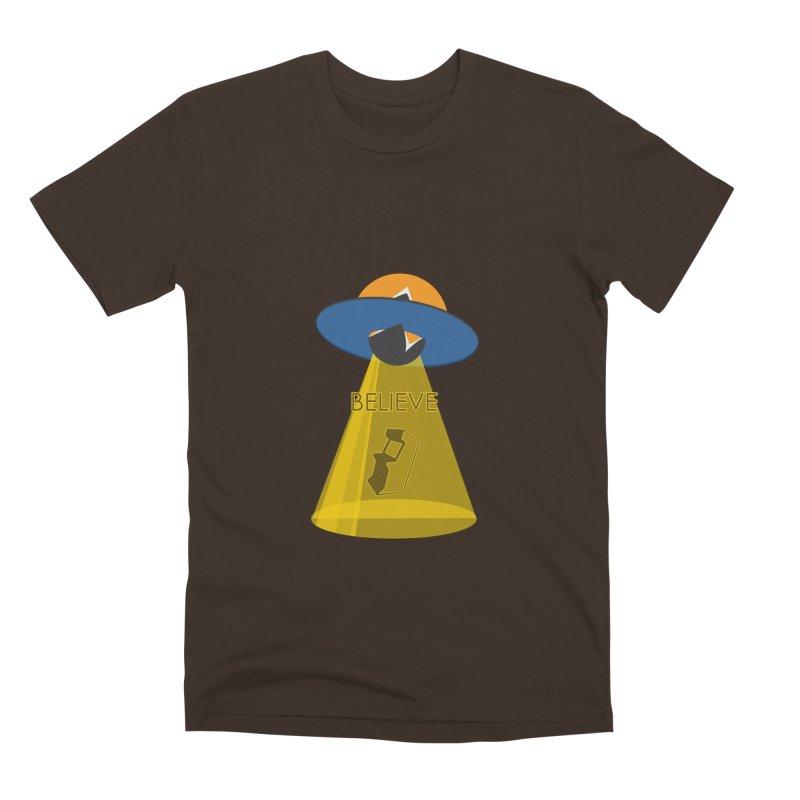 strange headache 01 Men's Premium T-Shirt by NeoGAF Merch Shop