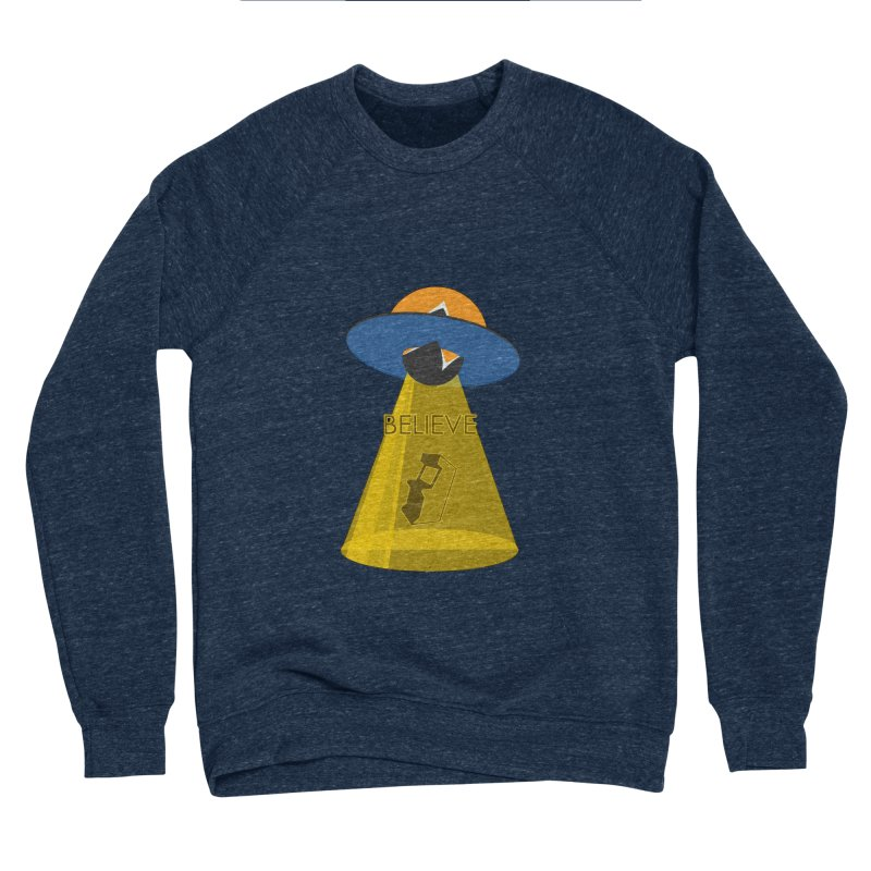 strange headache 01 Men's Sponge Fleece Sweatshirt by NeoGAF Merch Shop