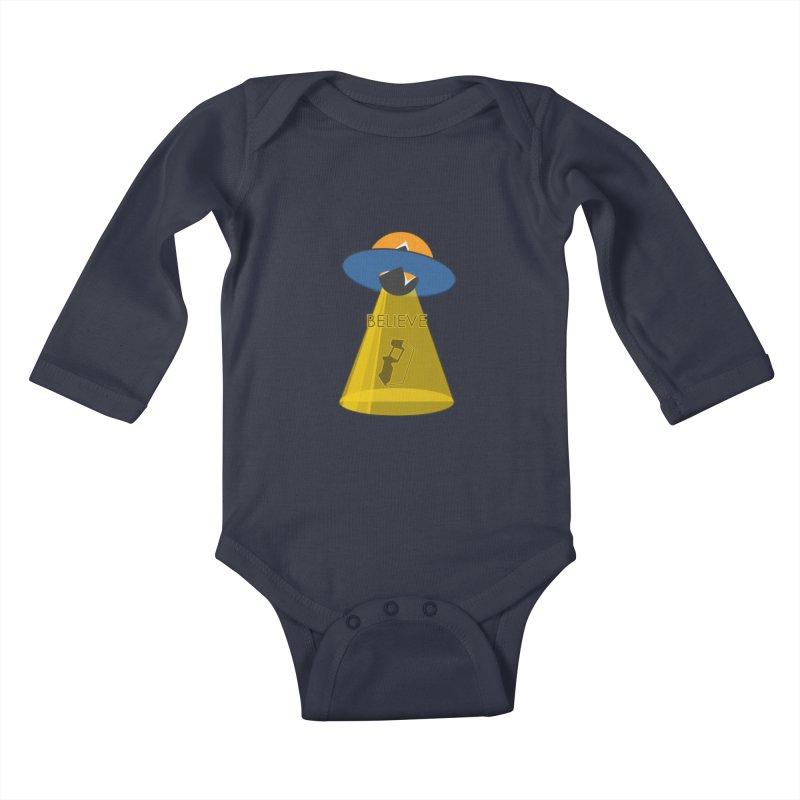 strange headache 01 Kids Baby Longsleeve Bodysuit by NeoGAF Merch Shop