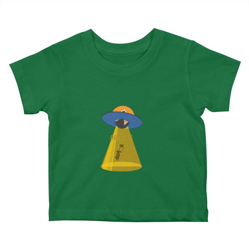 strange headache 01 Kids Baby T-Shirt by NeoGAF Merch Shop