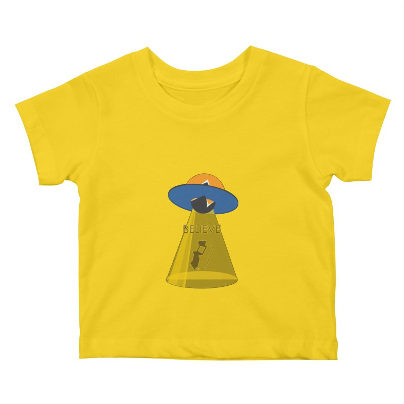 strange headache 01 Kids Baby T-Shirt by NeoGAF Merch Shop