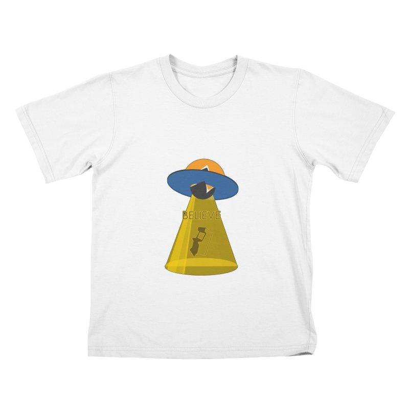 strange headache 01 Kids T-Shirt by NeoGAF Merch Shop