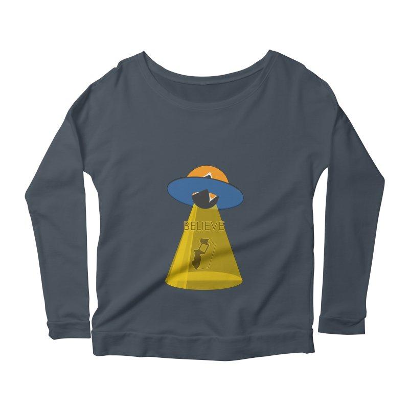 strange headache 01 Women's Scoop Neck Longsleeve T-Shirt by NeoGAF Merch Shop