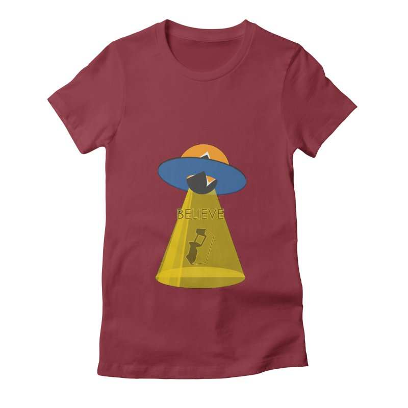 strange headache 01 Women's Fitted T-Shirt by NeoGAF Merch Shop
