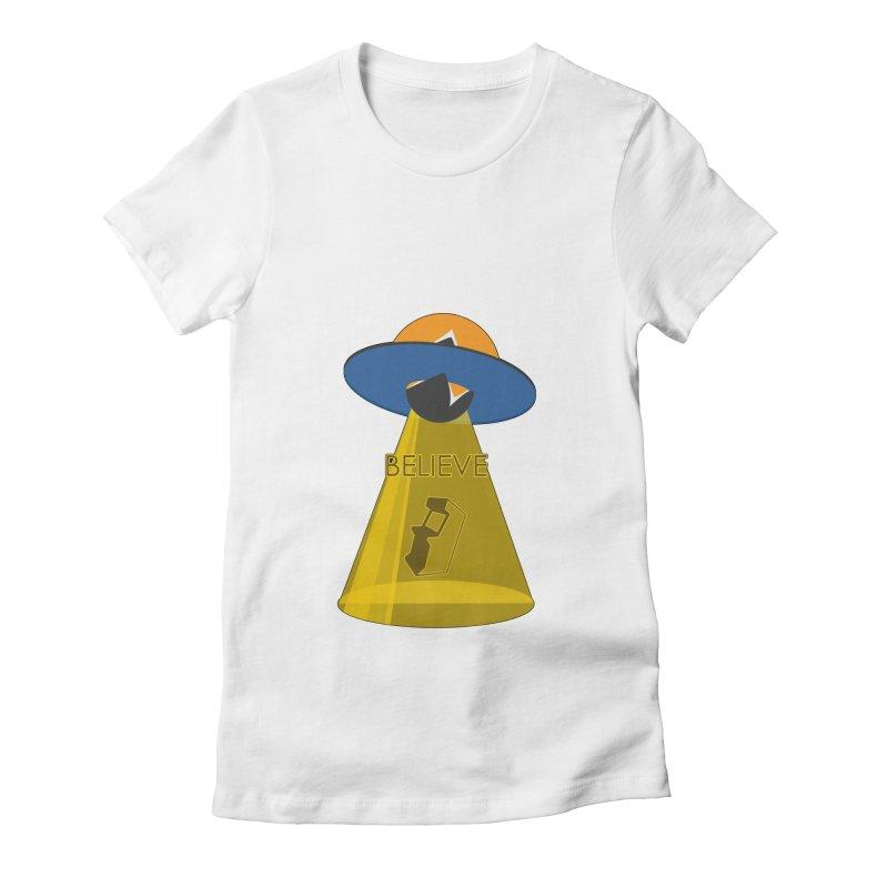 strange headache 01 Women's Fitted T-Shirt by NeoGAF Merch Shop